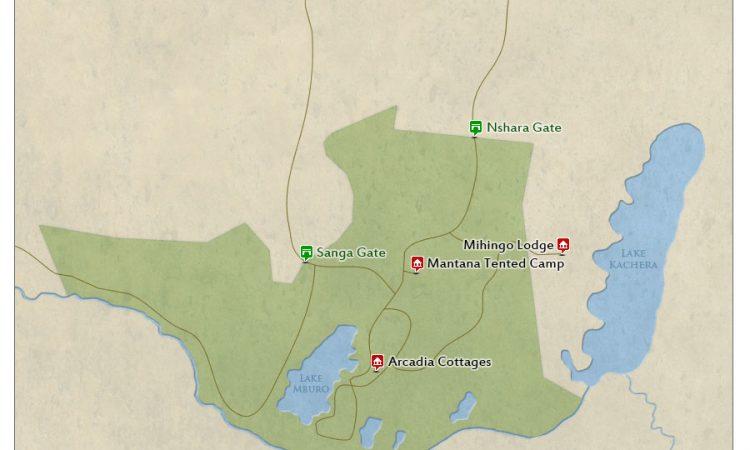 Size of Lake Mburo National Park