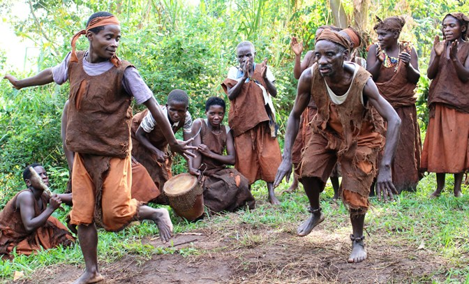 Visit the Batwa people